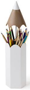 Porte-crayons design