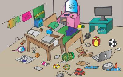 Organiser et ranger la chambre d'enfants